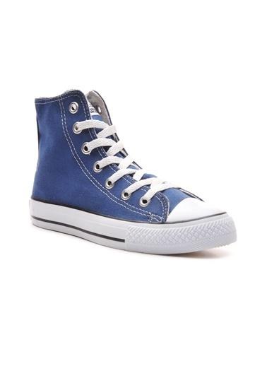 Bulldozer 211902 Unisex  Uzun  Keten  Ayakkabı Mavi